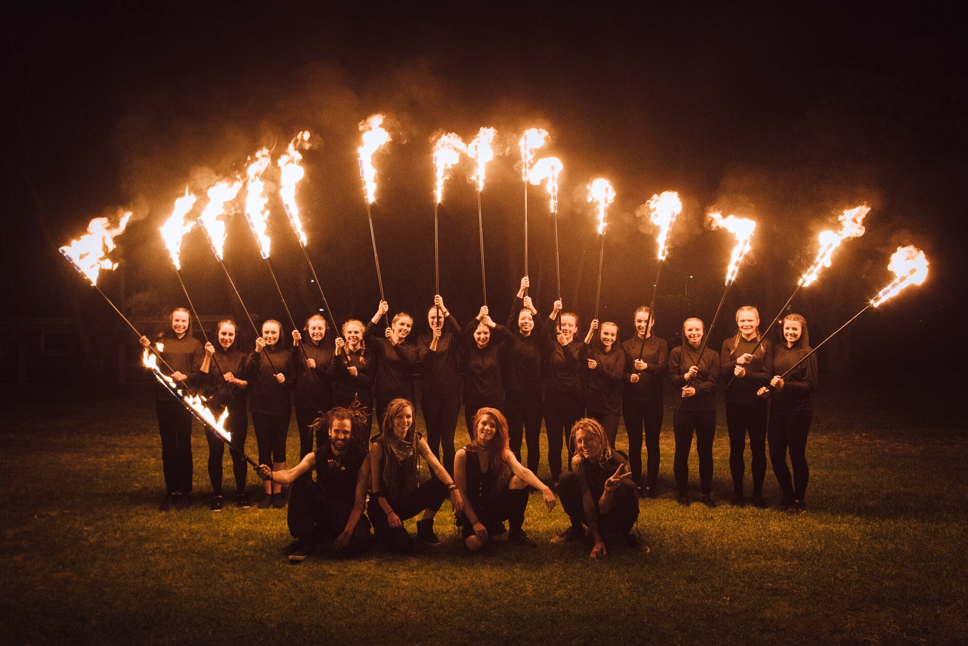 About our Fire Spinning School | Dragon Mill | School of