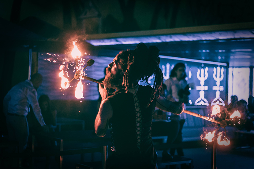 Fire Spinning classes in Adelaide | Dragon Mill | School of Fire Art