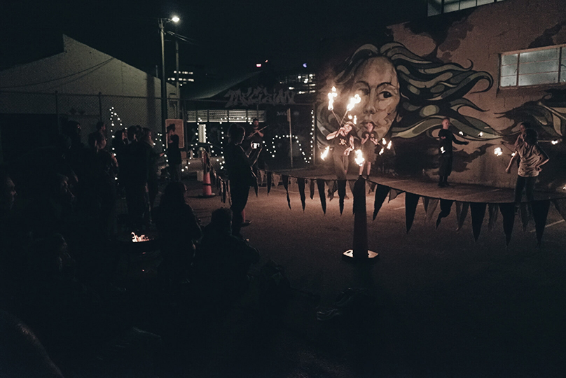 Fire Jam - Community events - Fire Performance