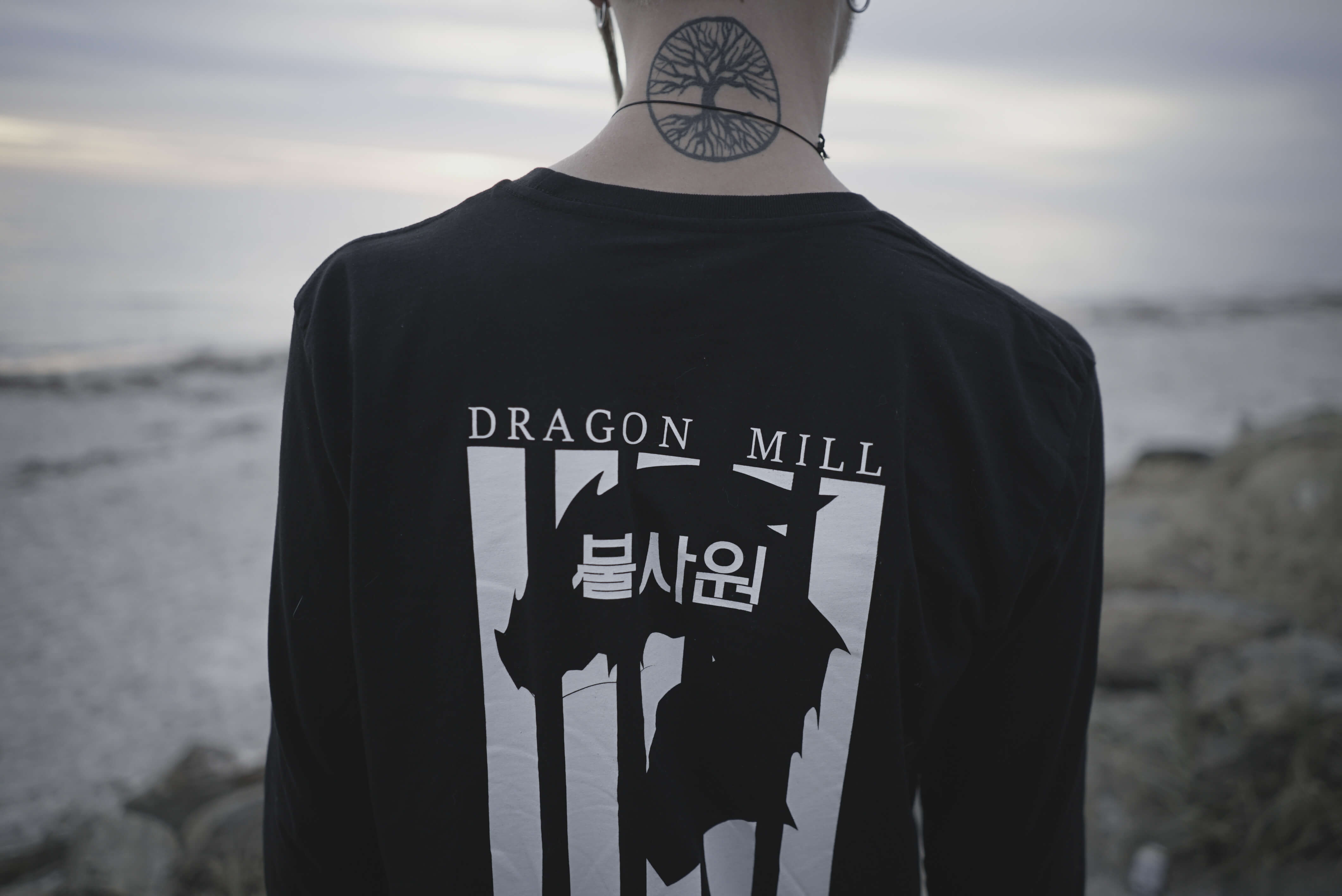 Dragon Mill 불 사원 Fire Temple Long Sleeve Tee